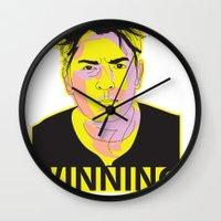 Charlie Sheen Winning_Ink Wall Clock