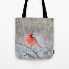 Hanging On (Cardinal In … Tote Bag