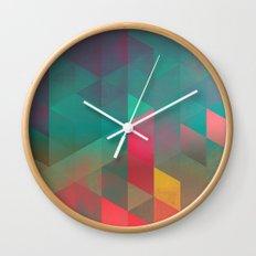 byych fyre Wall Clock