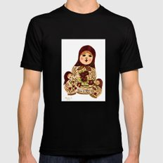 Russian dolls 2 / warmer colors  Black Mens Fitted Tee SMALL