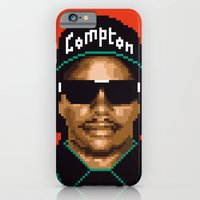 iPhone & iPod Case featuring Compton city G by carré offensif