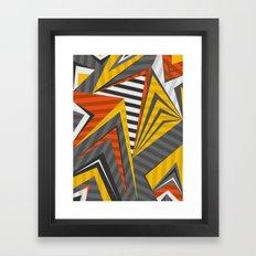 Carbon Steam Framed Art Print