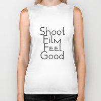 Shoot Film, Feel Good (B… Biker Tank