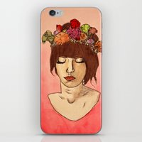 Is She Down To Earth or Just Hipster? iPhone & iPod Skin