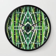 50 Shades of Green (6) Wall Clock
