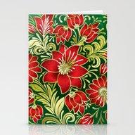 Shabby Flowers #4 Stationery Cards