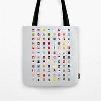 Minimalism Robots (Good … Tote Bag