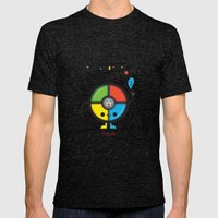 Je M'apelle Simón Mens Fitted Tee Tri-Black SMALL