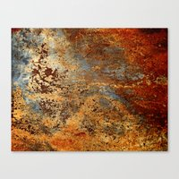 Beautiful Rust Canvas Print
