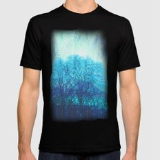 Visitors Mens Fitted Tee Black SMALL