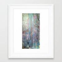 Free Falling Framed Art Print
