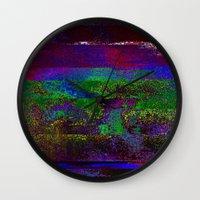 66-84-01 (Earth Night Gl… Wall Clock