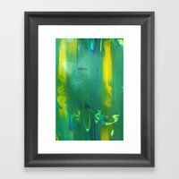 Abstract Painting 8 Framed Art Print