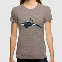 The Turnpike Cruiser of the sea Womens Fitted Tee Tri-Coffee SMALL