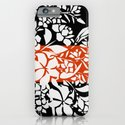 Boxed White Bouquet Print iPhone & iPod Case