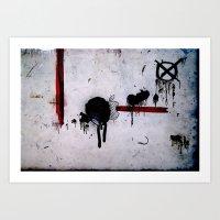 Dirtypple Art Print