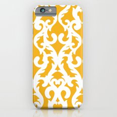 Modern Baroque Yellow Slim Case iPhone 6s
