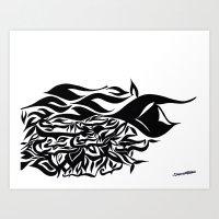 Wave Design 1.0 Art Print