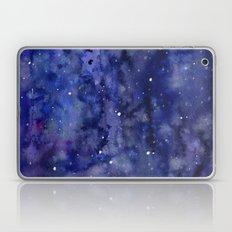 Night Sky Galaxy Stars   Watercolor Space Texture Laptop & iPad Skin