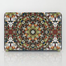 Boho Geometric Mandela Pattern 1 iPad Case