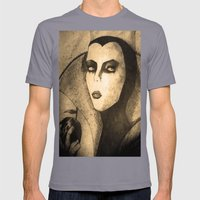 evil queen -snow white Mens Fitted Tee Slate SMALL
