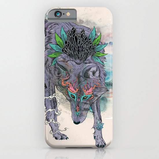 Journeying Spirit (wolf) iPhone & iPod Case