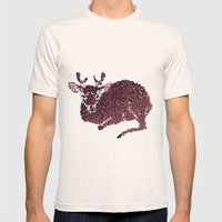 oh my deer Mens Fitted Tee Natural SMALL