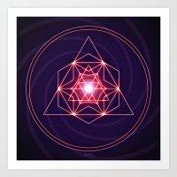 Astral Exploration Art Print