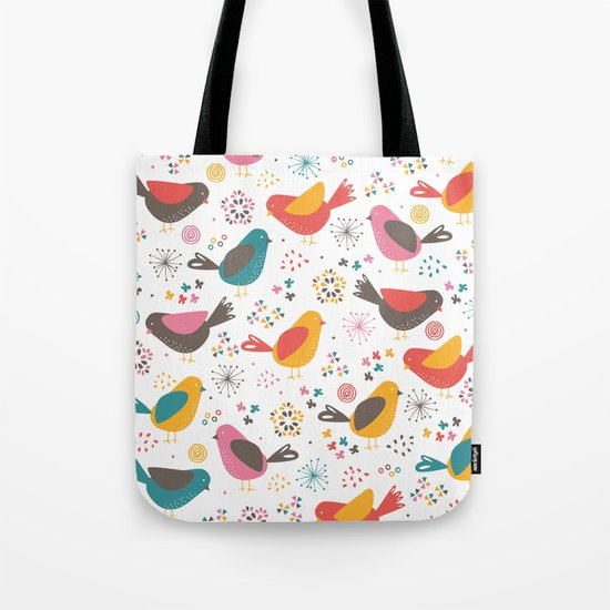 Quirky Chicks Tote Bag