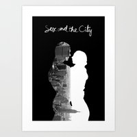 Sex And The City Art Print
