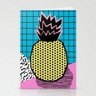 Grindage - Pineapple Fru… Stationery Cards