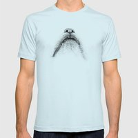 Ecstatic cat Mens Fitted Tee Light Blue SMALL