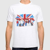Les Petits Great Britain Mens Fitted Tee Ash Grey SMALL
