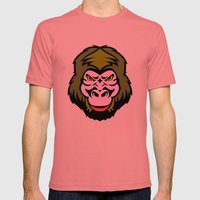 MONKEY BIZ Mens Fitted Tee Pomegranate SMALL
