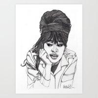 Ronnie Spector 2 Art Print