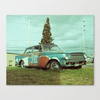 Canvas Print featuring Old Rambler by Vorona Photography