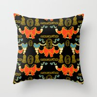 Ornament and Trim Throw Pillow