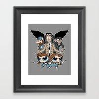 Hell & Back Boys Framed Art Print