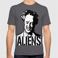 Giorgio A. Tsoukalos (Th… Mens Fitted Tee Asphalt SMALL
