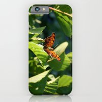 iPhone & iPod Case featuring Butterfly by Kimberly Sulzer-Girlwithafrogtattoo