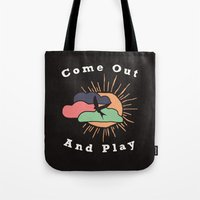Come Out and Play Tote Bag
