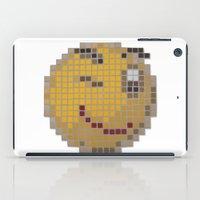 Emoticon Wink iPad Case