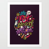 The Cool Pothead Dream Art Print