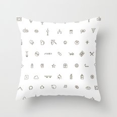 Berlin Life Throw Pillow
