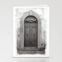 Rome Door 1 Stationery Cards