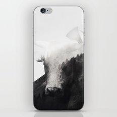 Minotaur (Black & White) iPhone & iPod Skin