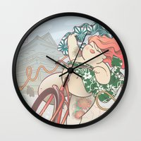 Ride Free! Wall Clock
