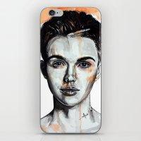Ruby Rose iPhone & iPod Skin