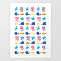 I Sea You, Baby (The Ess… Art Print