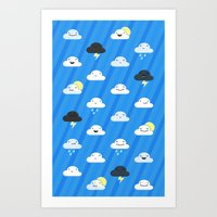 Forecast Feelings Art Print